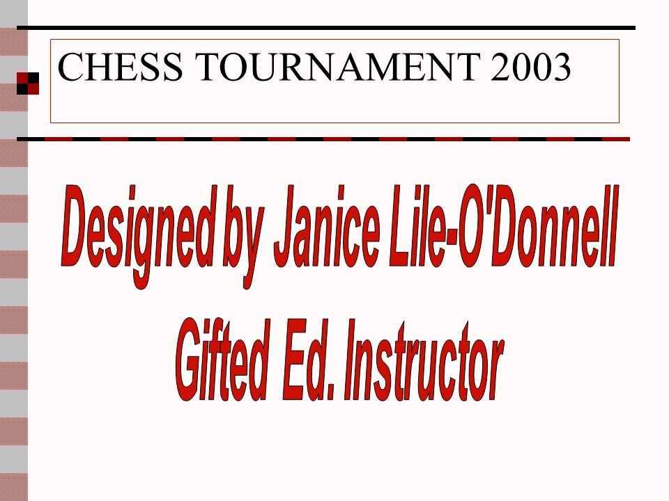 CHESS TOURNAMENT 2003