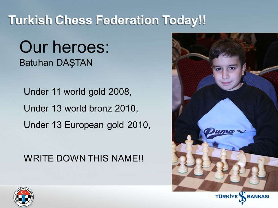 Turkish Chess Federation Today!.