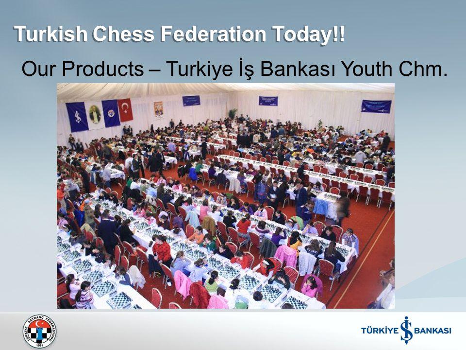 Turkish Chess Federation Today!! Our Products – Turkiye İş Bankası Youth Chm.