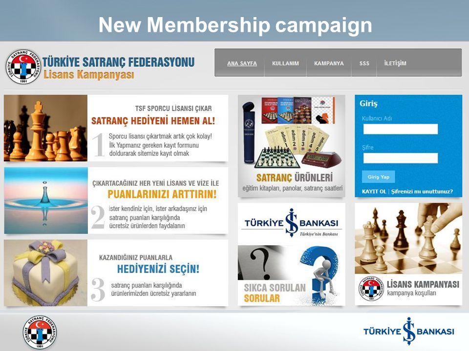 New Membership campaign