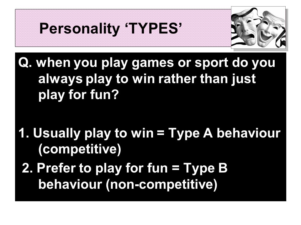 Which 'type' are you.