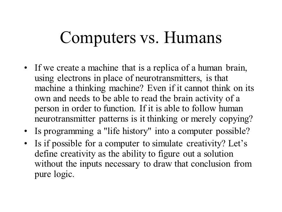 Computers vs.