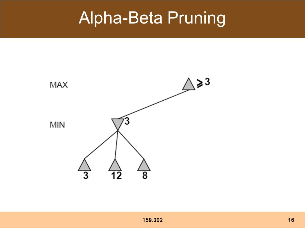 159.30216 Alpha-Beta Pruning