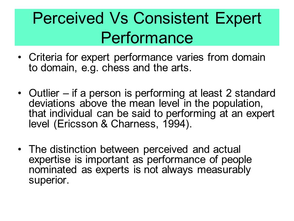 Andersons ACT Theory Evaluation: There is good evidence of a shift from declarative to procedural memory as people become well practiced at a particular task This model deals well with unvarying procedures (touch typing), but does not say much about creative/adaptive expertise (like that seen in scientific theory)