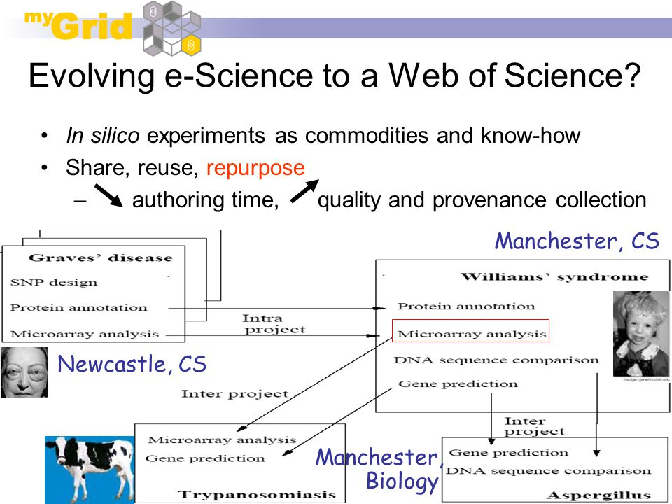 ISWC 2005, Galway Evolving e-Science to a Web of Science.