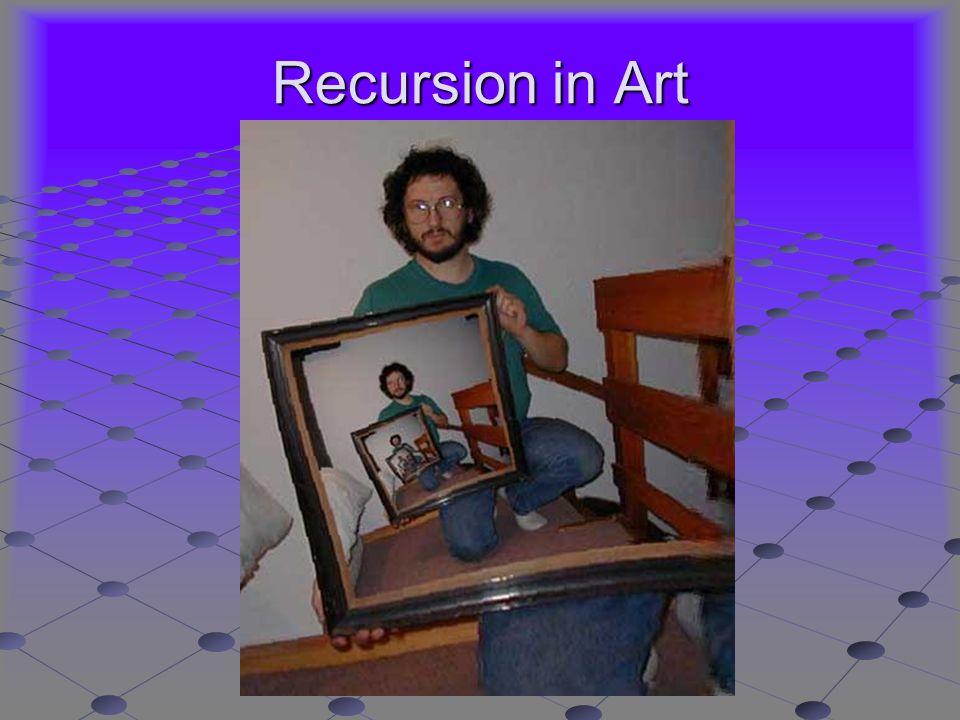 Recursion in Art