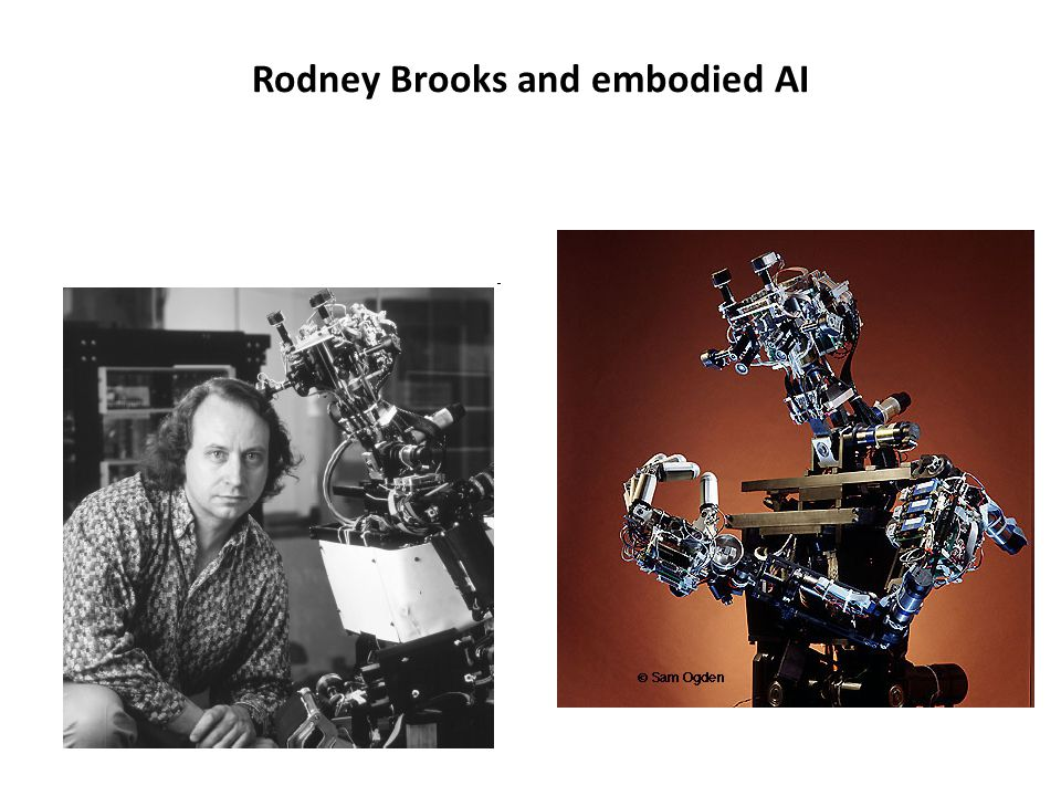 Rodney Brooks and embodied AI