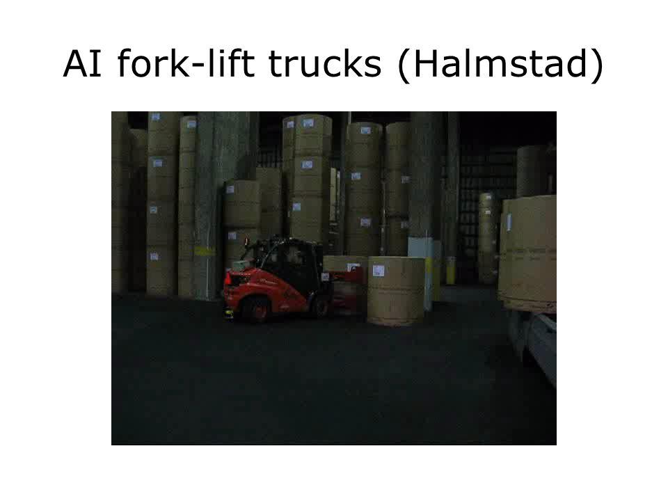 AI fork-lift trucks (Halmstad)