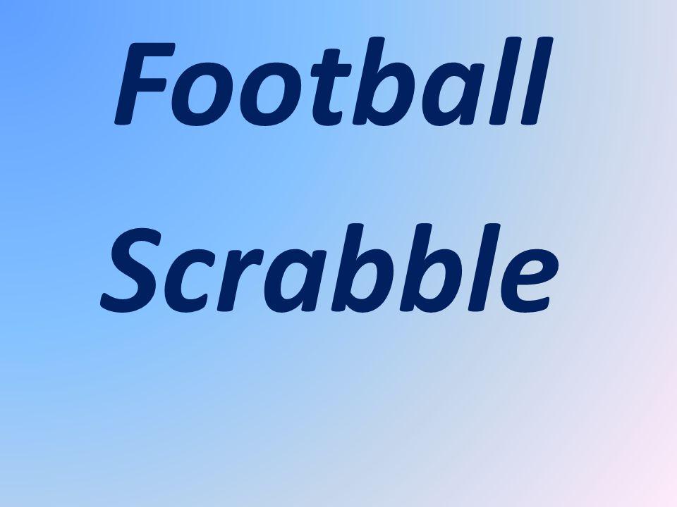Football Scrabble