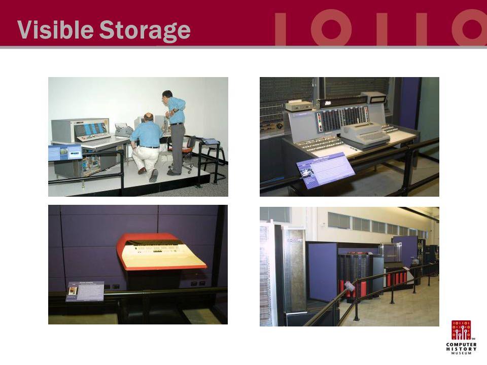 Visible Storage