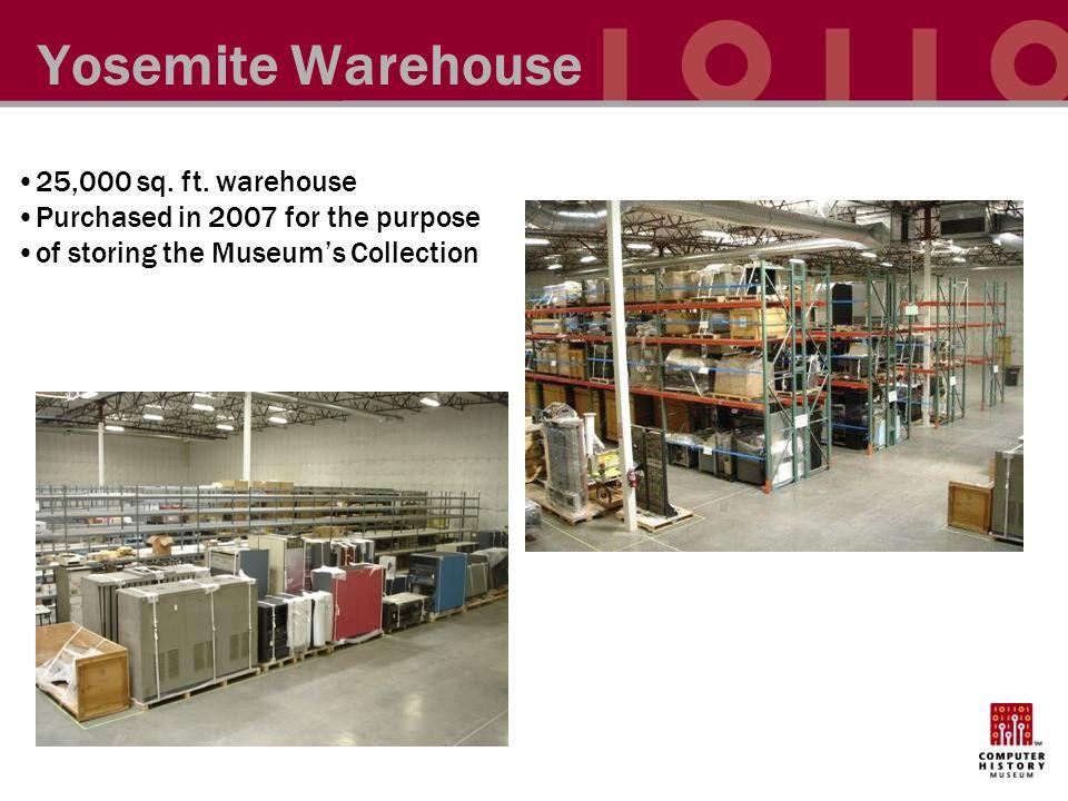 Yosemite Warehouse 25,000 sq. ft.