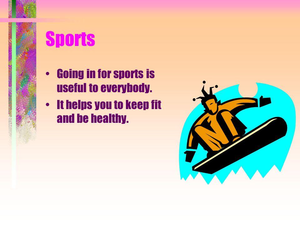 Outdoor Hobbies Sports