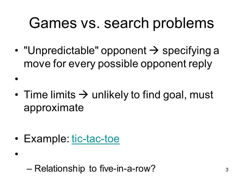 3 Games vs.