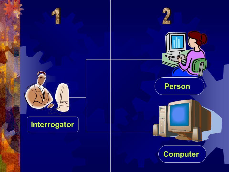 Interrogator Person Computer