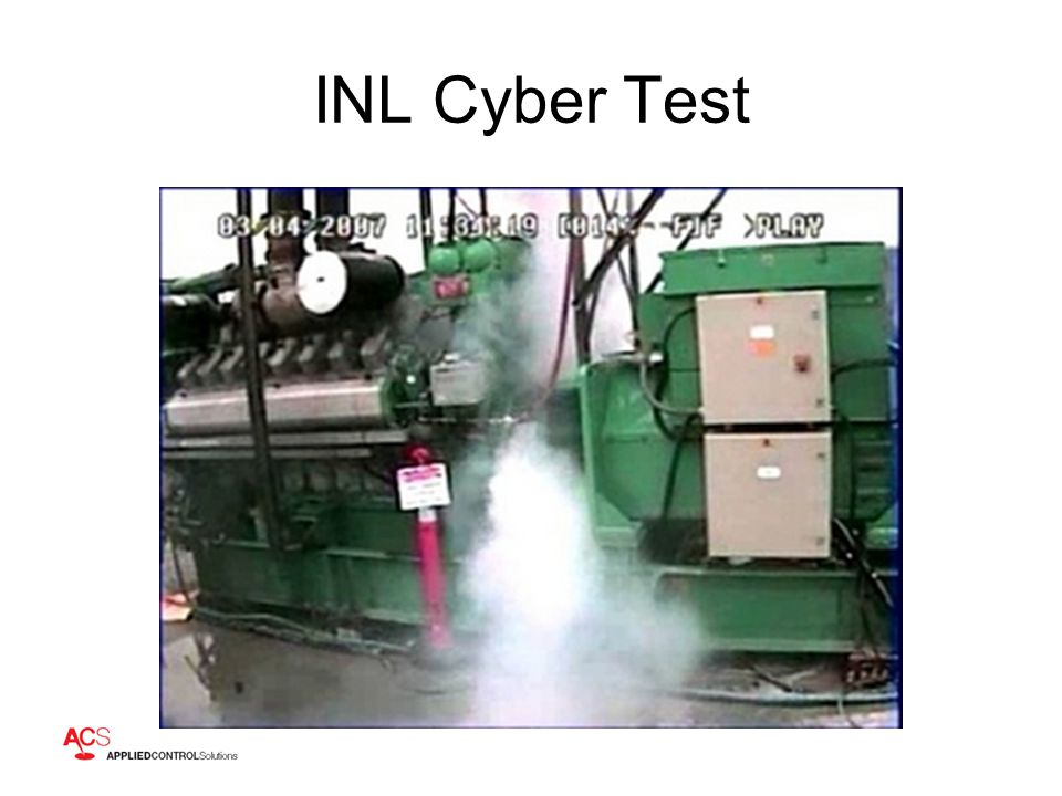 INL Cyber Test