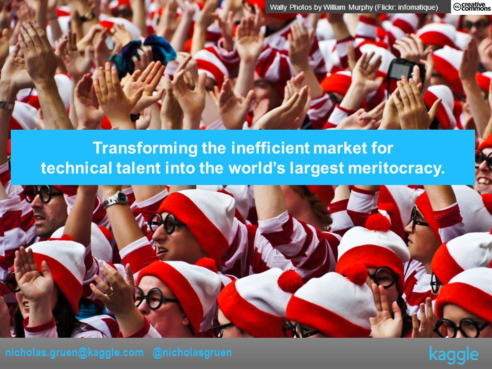 Transforming the inefficient market for technical talent into the world's largest meritocracy.