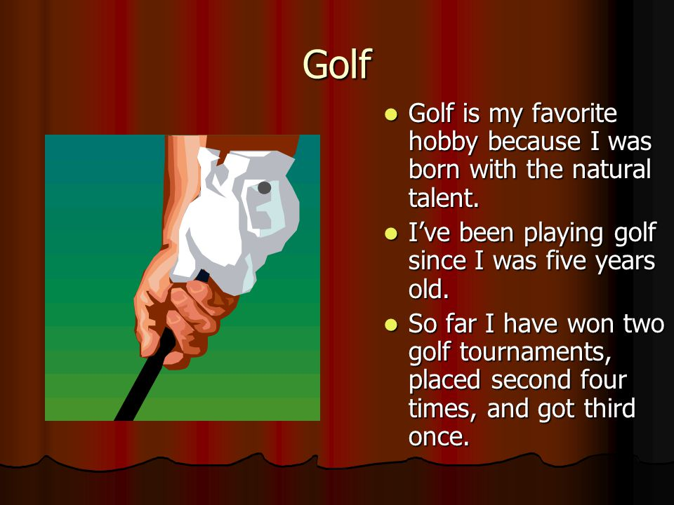 PowerPoint Project 1 My Hobbies Created By Christopher Sloan Computer Literacy Period 3