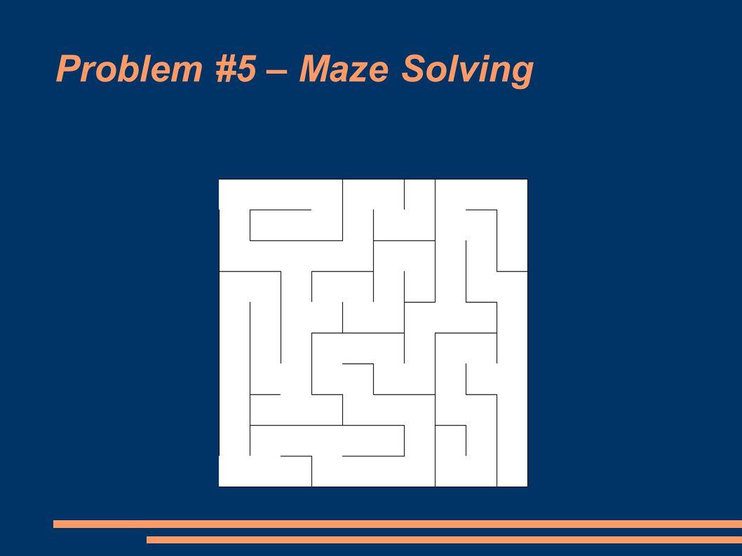 Problem #5 – Maze Solving
