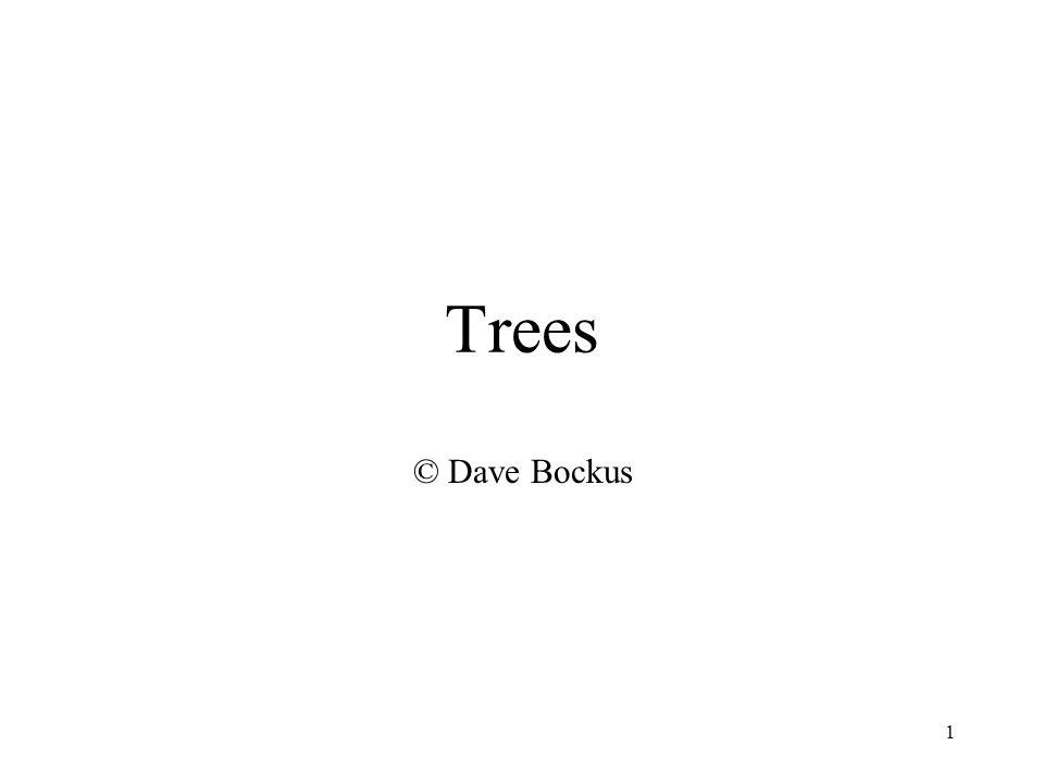 1 Trees © Dave Bockus