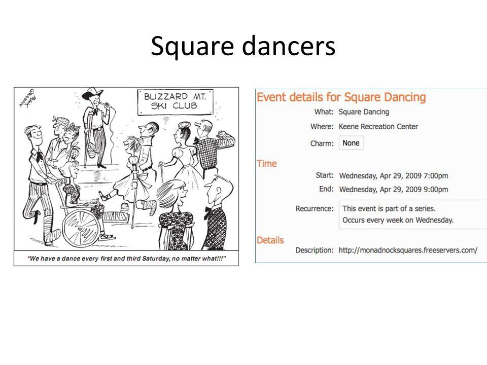 Square dancers