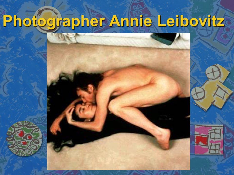 Photographer Annie Leibovitz