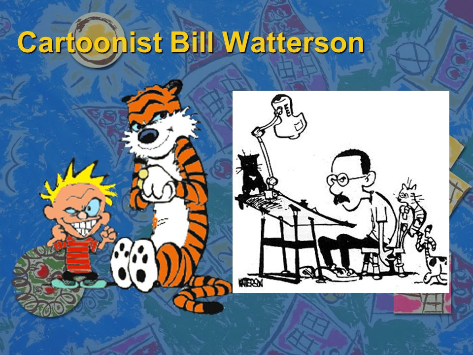 Cartoonist Bill Watterson
