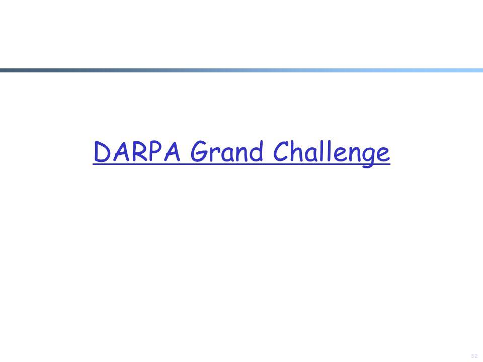 DARPA Grand Challenge 32