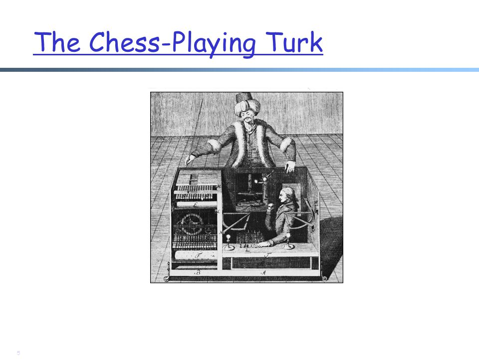 The Chess-Playing Turk 5