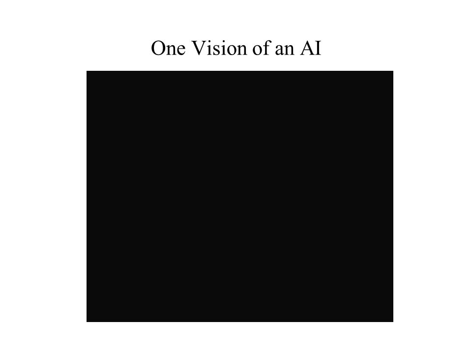 One Vision of an AI