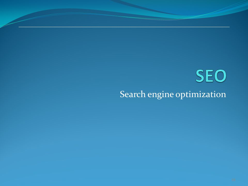 48 Search engine optimization
