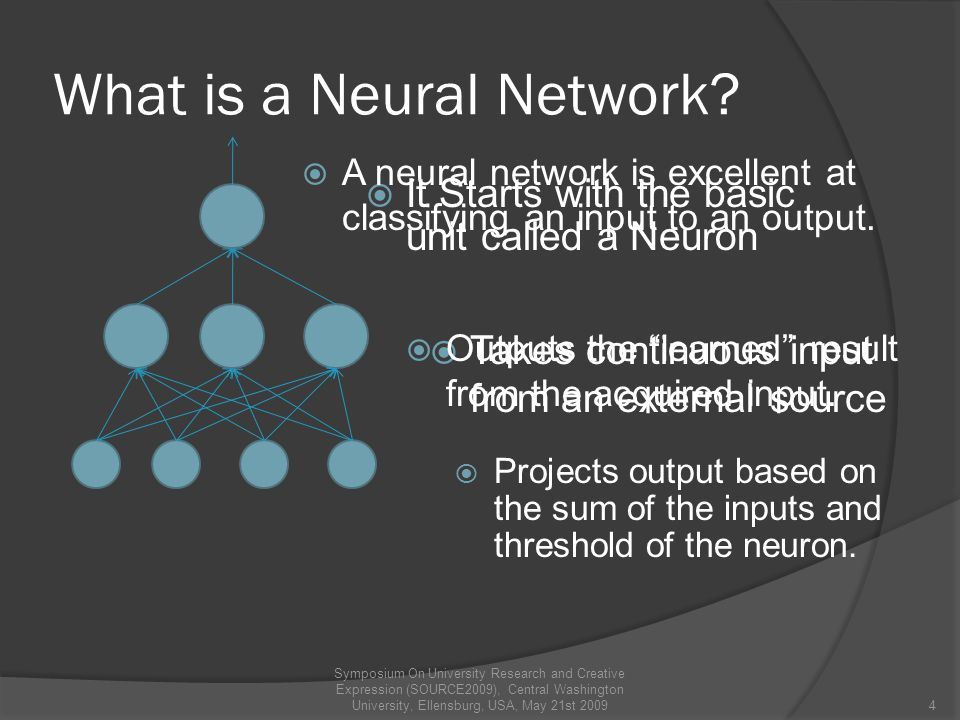 Criteria used by Neural Network Carrascal, A, Manrique, D, & Rios, J Neural networks evolutionary learning in chess game.
