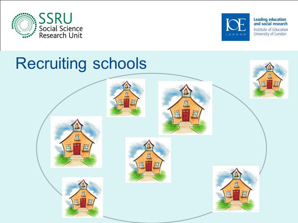 Recruiting schools