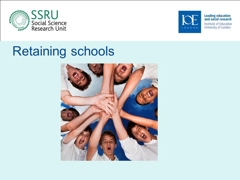 Retaining schools