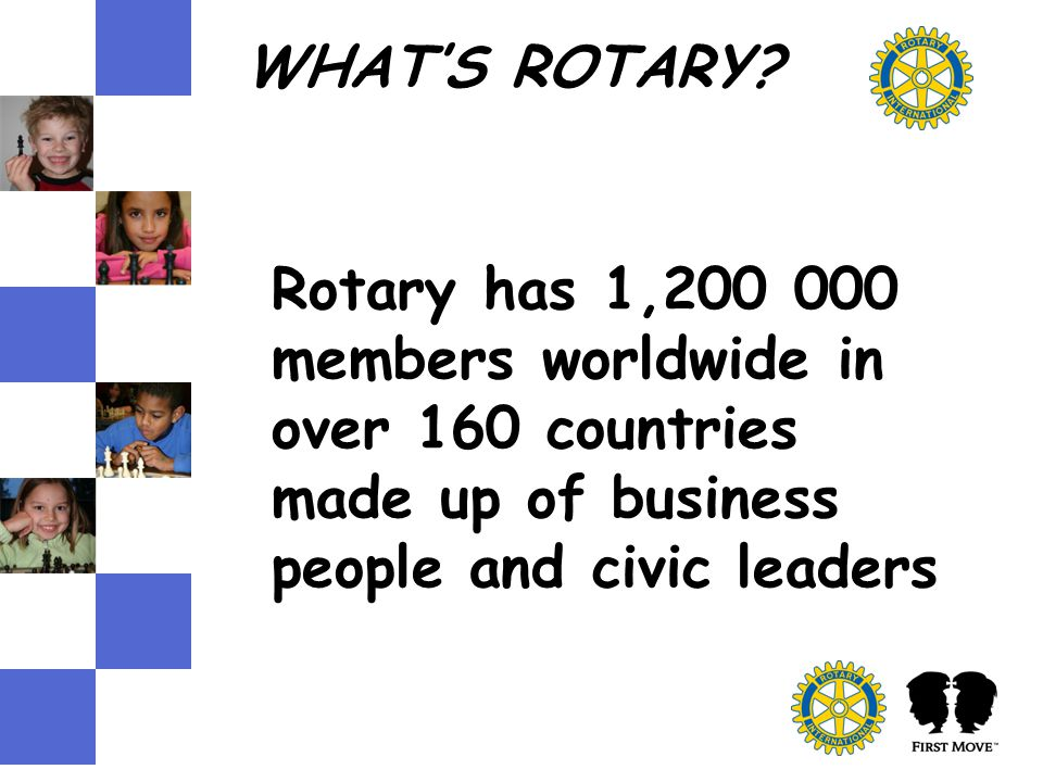 WHAT'S ROTARY.