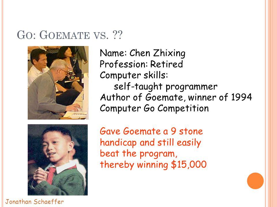G O : G OEMATE VS. .
