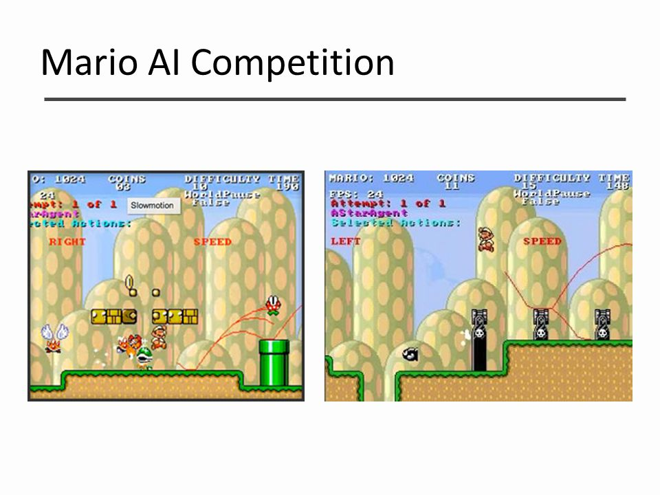 Mario AI Competition