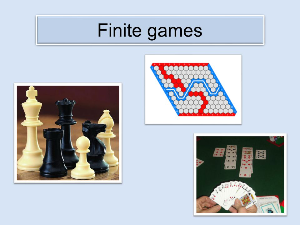 Two-player game First player nominates any finite two-player game Second player then takes first move in that game So Hypergame is a finite game Hypergame