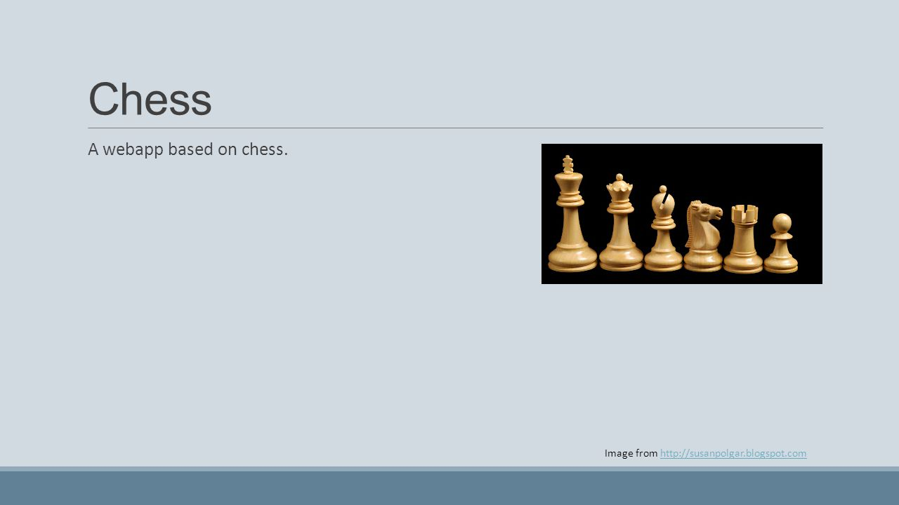 Chess A webapp based on chess.