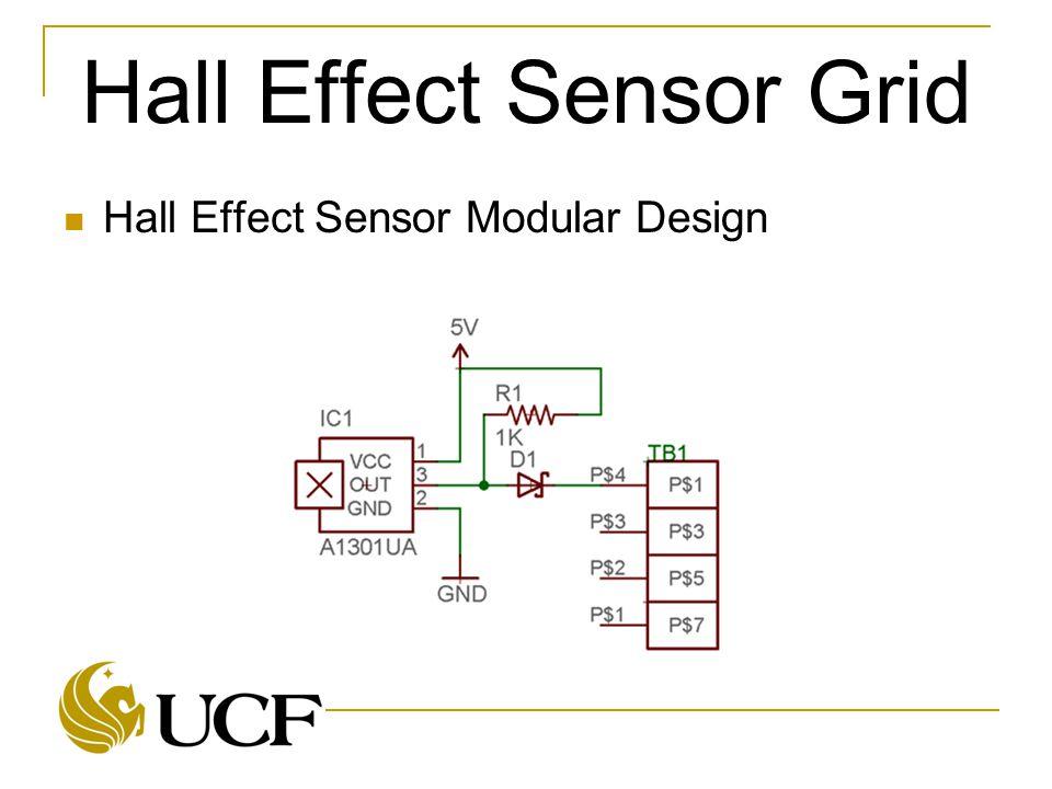 Hall Effect Sensor Modular Design
