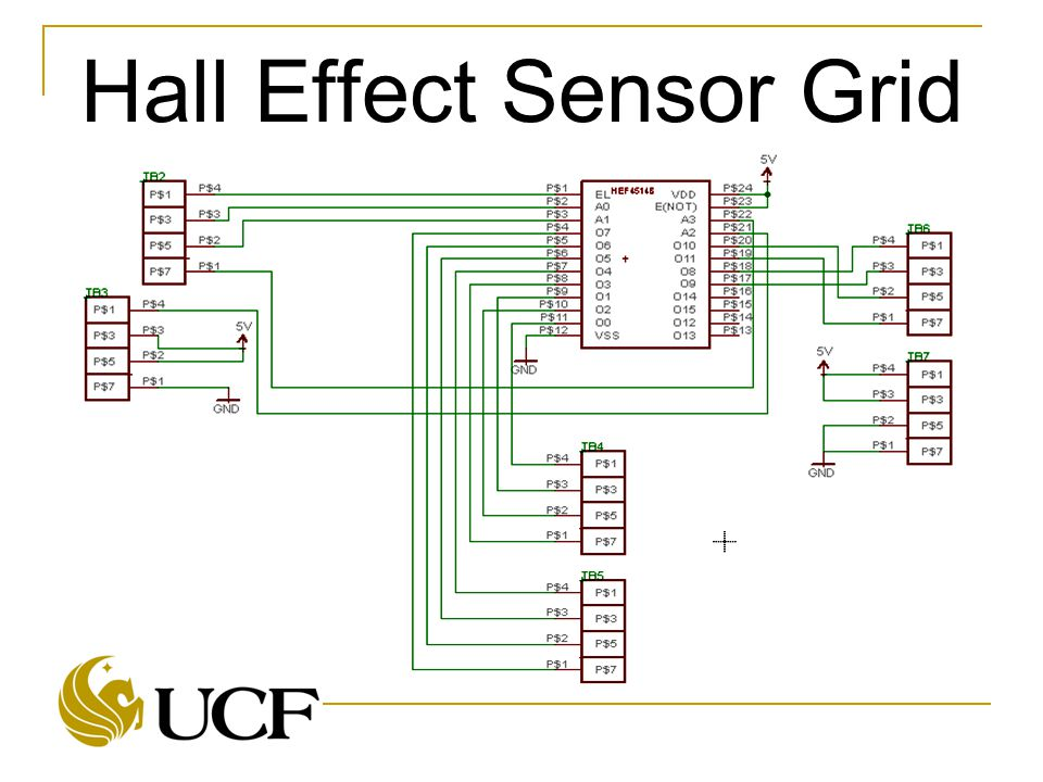 Hall Effect Sensor Grid