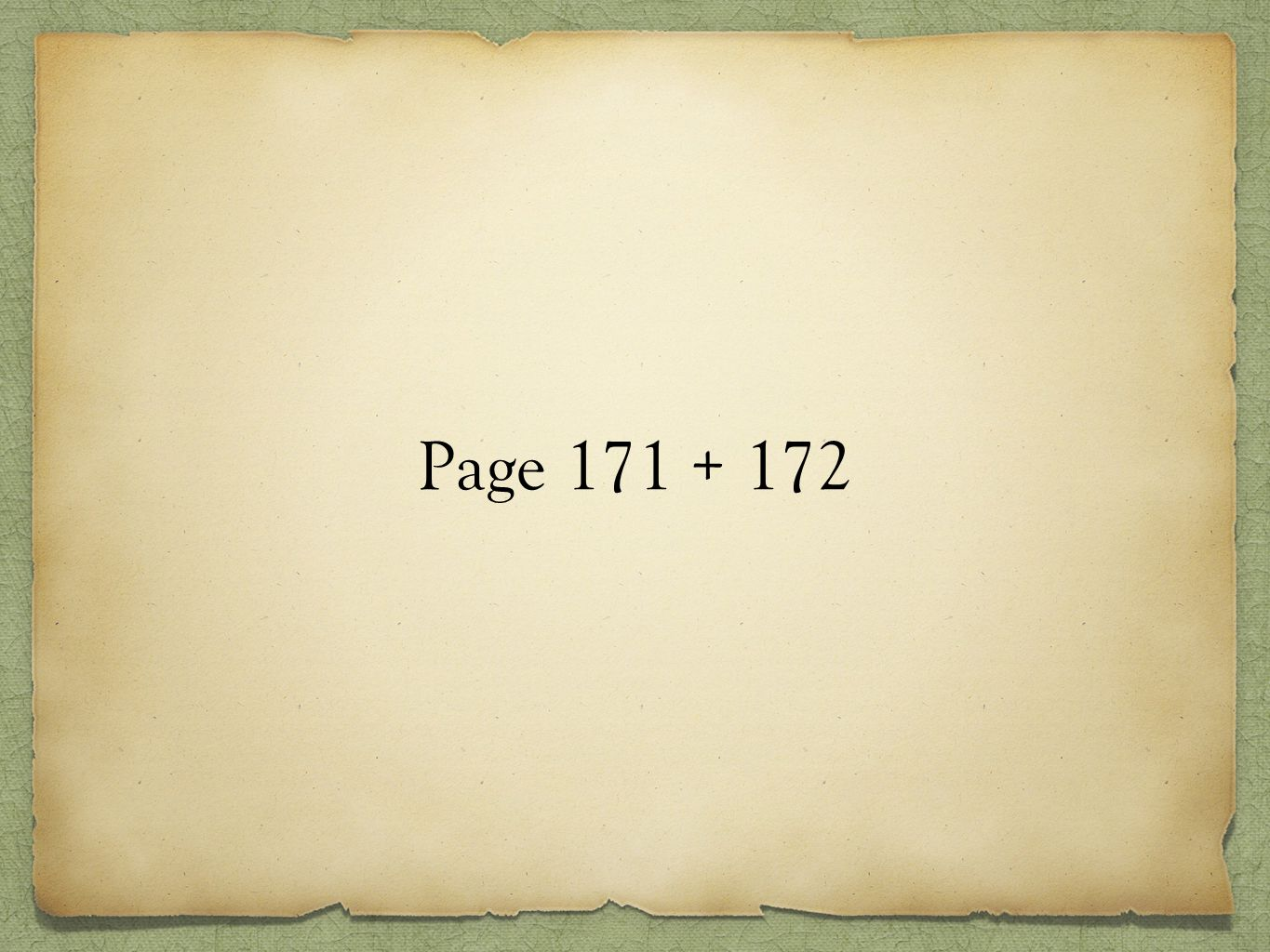 Page 171 + 172
