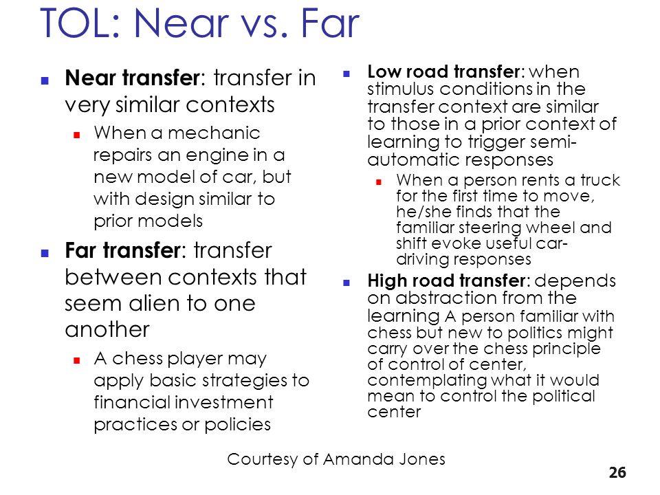 TOL: Near vs.