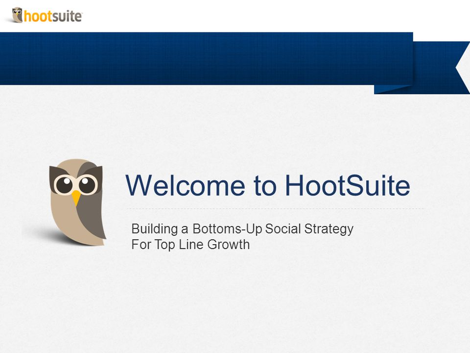 With your guide Jennifer Yorke HootSuite Account Manager jennifer.yorke@hootsuite.com @jenniferyorke