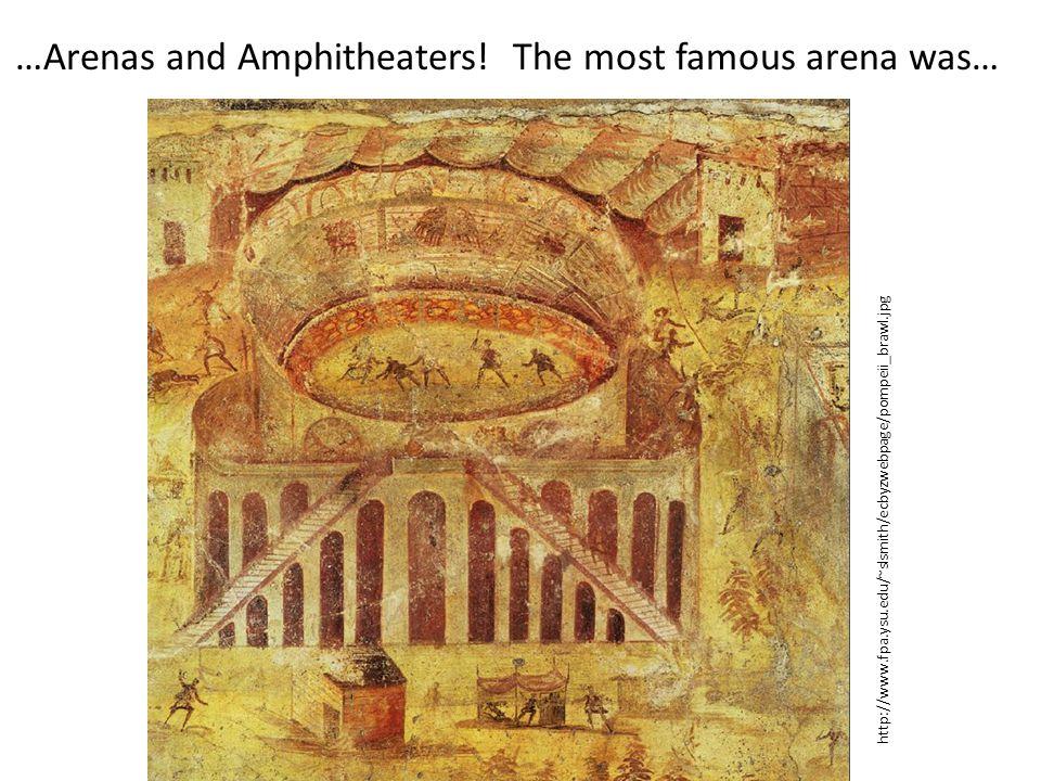 The Flavian Amphitheater, aka The Colosseum.