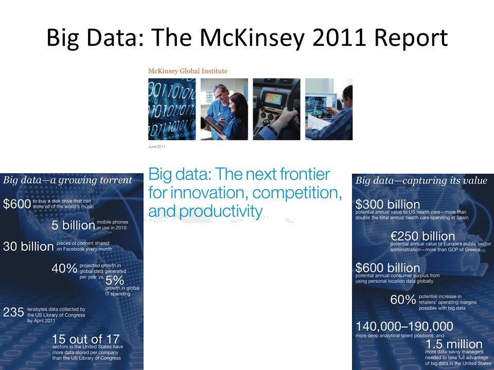 13 Big Data: The McKinsey 2011 Report