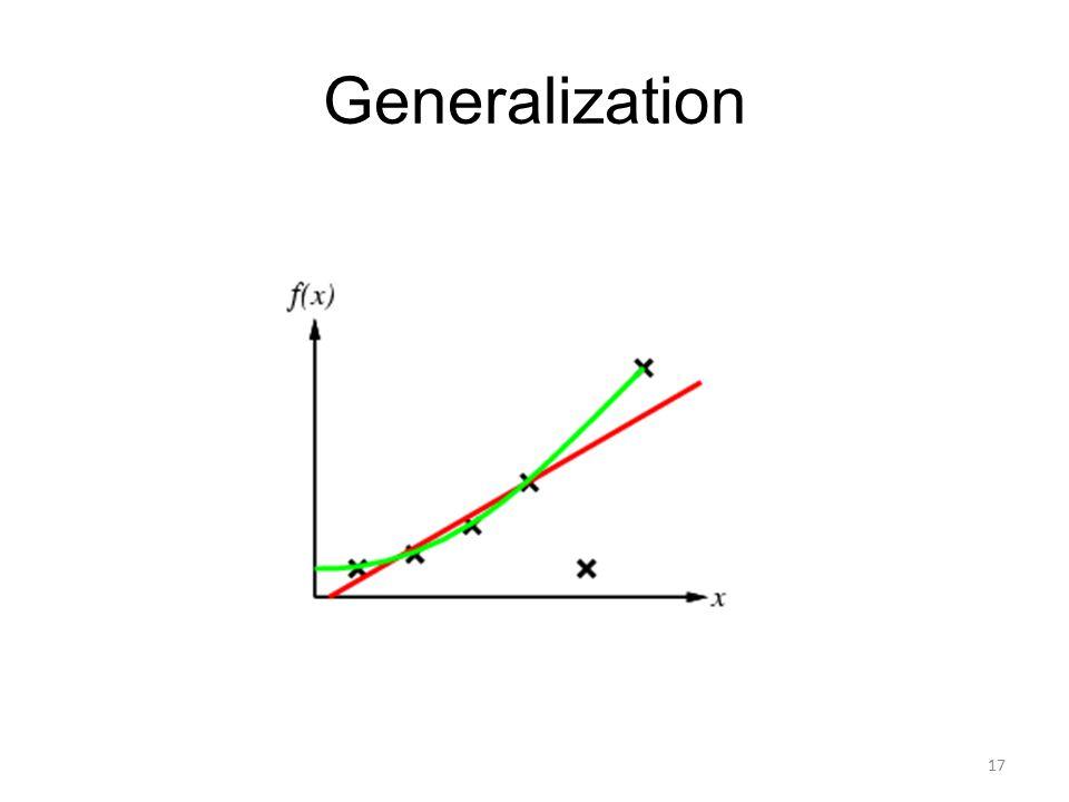 Generalization 17