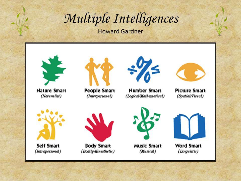 Multiple Intelligences Howard Gardner