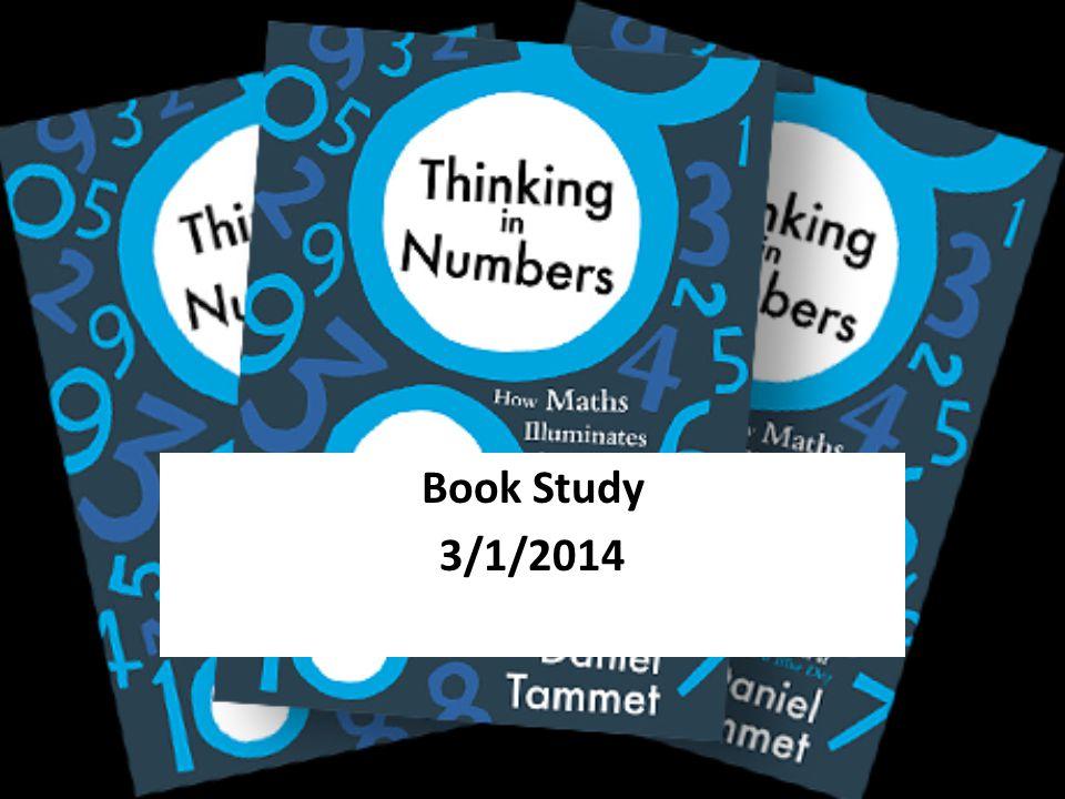 Book Study 3/1/2014
