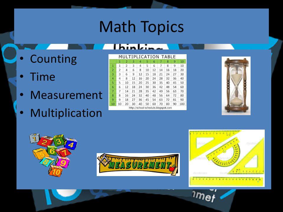 Math Topics Algebra Calculus Prime Numbers Statistics Infinity Pi