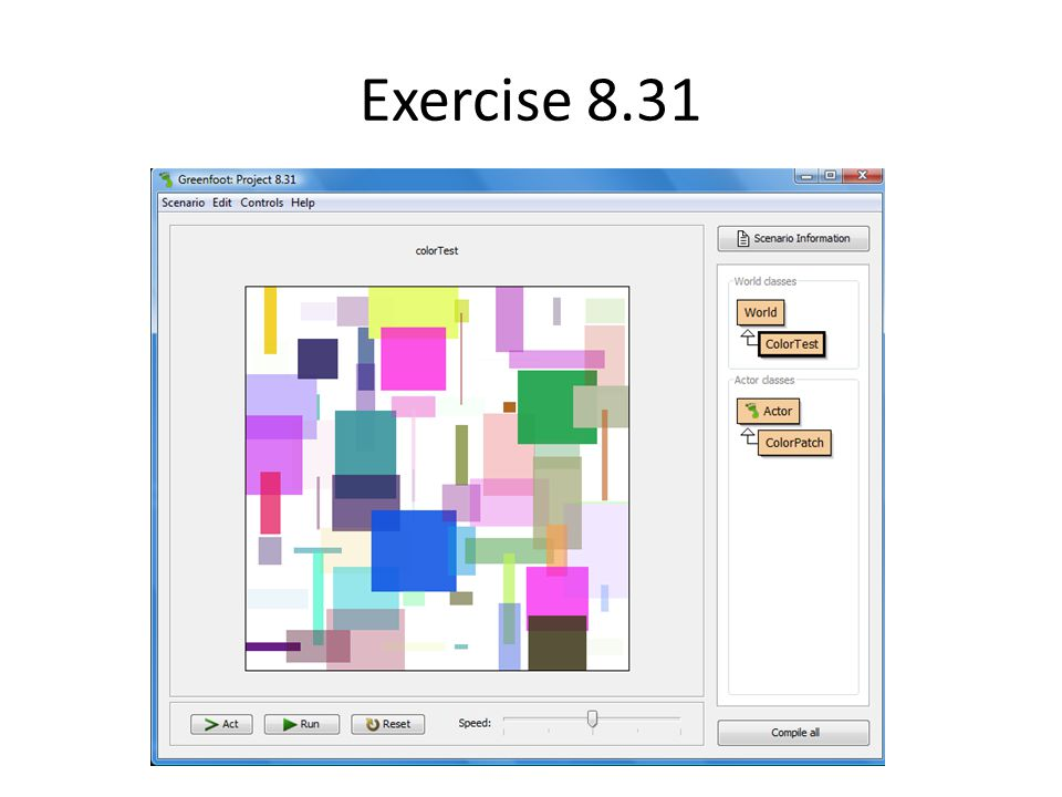 Exercise 8.31
